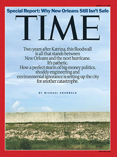 Time Magazine August 7th, 2007