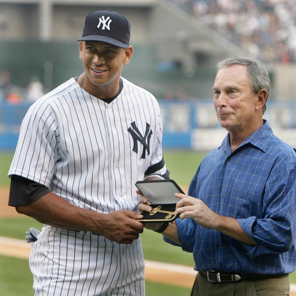 Alex Rodriguez Gets Key to the City