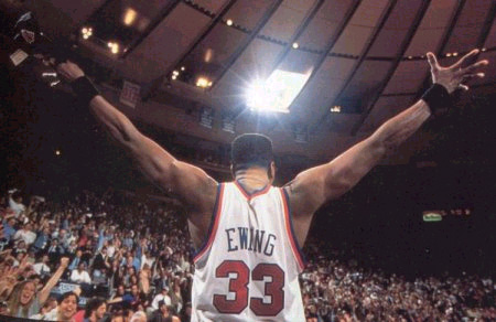 Patrick Ewing, Arms Stretched Out