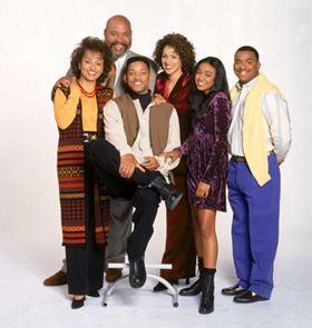 The Fresh Prince of Bel Air family