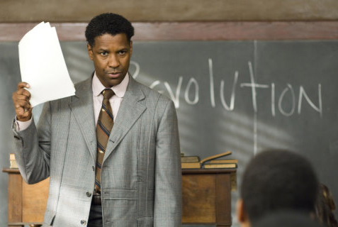 Denzel Washington as Melvin Tolson, <i>The Great Debaters</i>