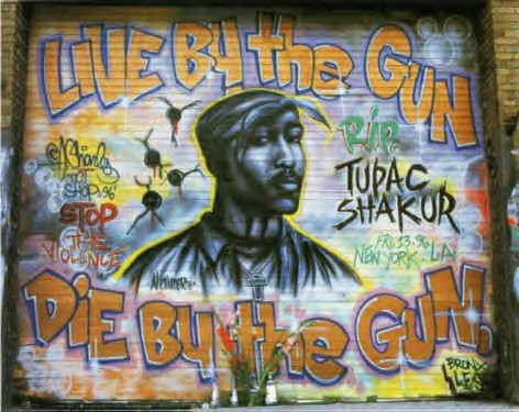 2Pac Mural by Chico