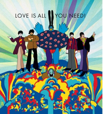 Beatles' Love Is All You Need