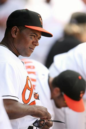 Miguel Tejada as a Baltimore Oriole