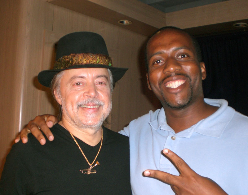 Jose Vilson with Chuck Mangione