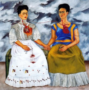 "Frida Kahlo's ""Le Due Frida"""