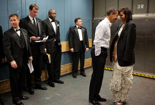 Barack and Michelle Obama, Behind the Scenes