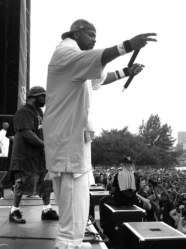 Ghostface Killah, On Stage