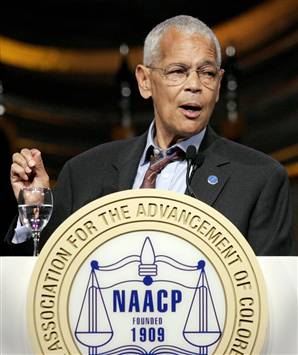 Julian Bond, Chairman of the NAACP