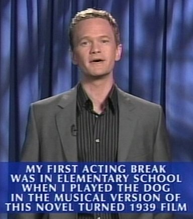 Neil Patrick Harris on Jeopardy