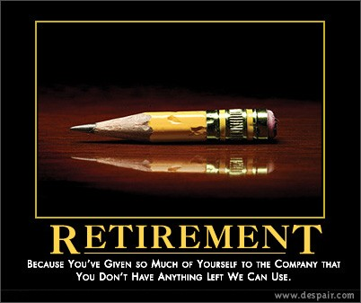 Retirement Pencil
