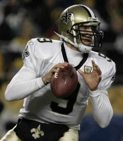 New Orleans Saints' Drew Brees