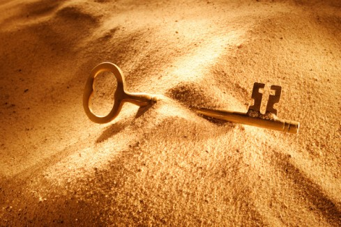 Keys in the Sand
