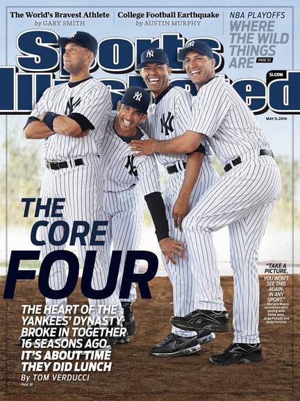 Sports Illustrated, Yankees Core Four