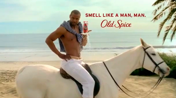 Old Spice Guy Isaiah Mustafa, On a Horse