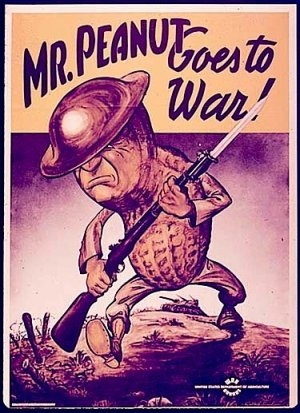 Mr. Peanut Goes To War
