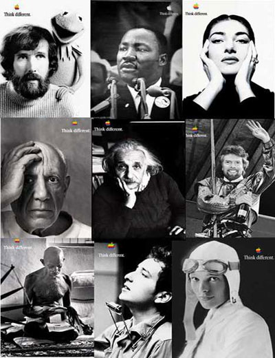 "Apple's ""Think Different"" Posters"