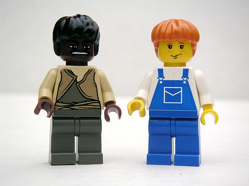 Huckleberry Finn and Jim, Legos