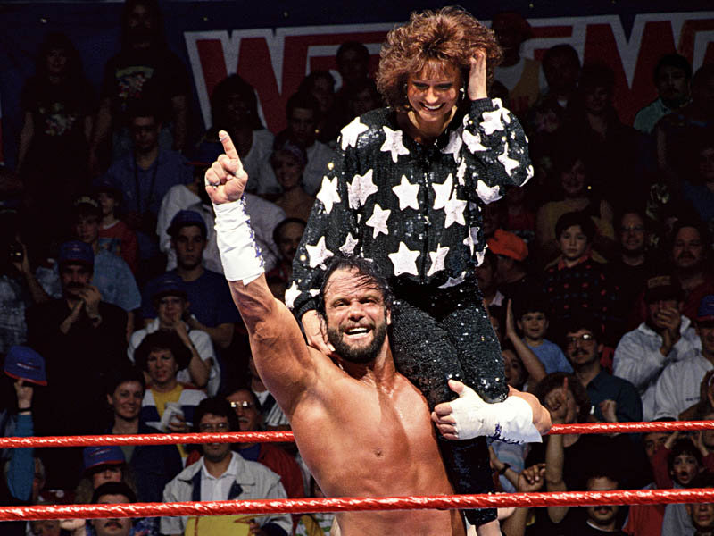 Macho Man Randy Savage and Elizabeth