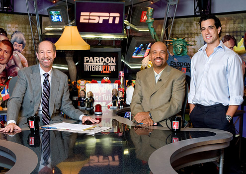 Pardon the Interruption with Tony Kornheiser, Michael Wilbon, and Tony Reali