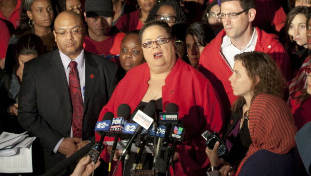 Karen Lewis, President, Chicago Teachers Union