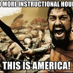 5 Ways To Use 300 More Instructional Hours In A Year (THIS IS AMERICA!)
