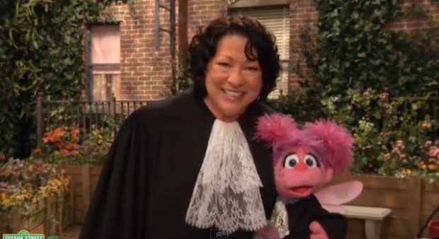 Supreme Sonia Sotomayor on Sesame Street