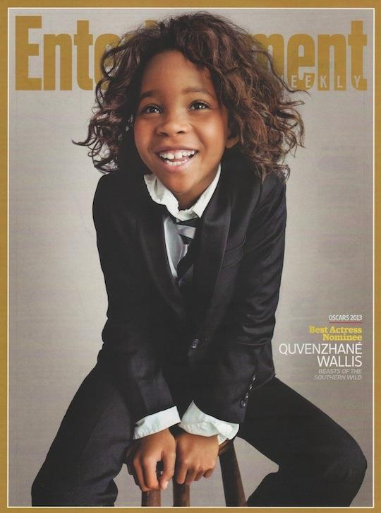 Quvenzhané Wallis on the cover of Entertainment Magazine