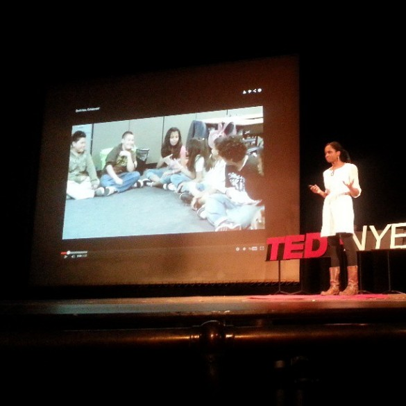 Sabrina Stevens at TEDxNYED, Brooklyn Tech