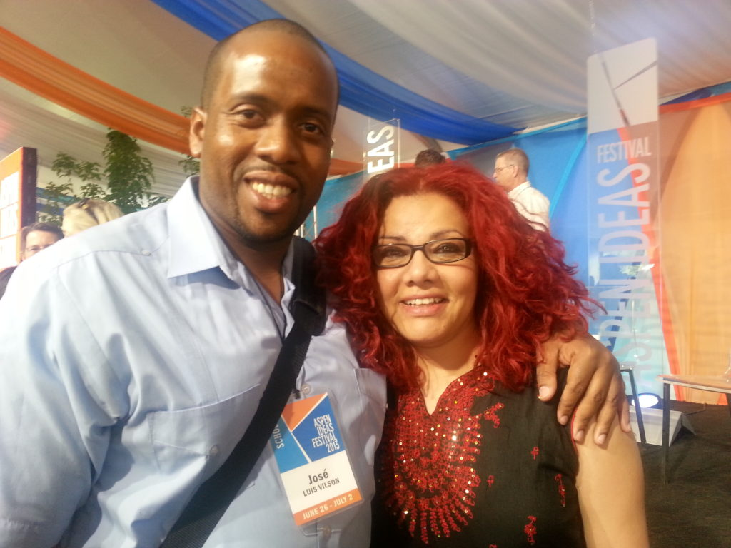Mona Eltahawy and me, Aspen Ideas Festival 2013