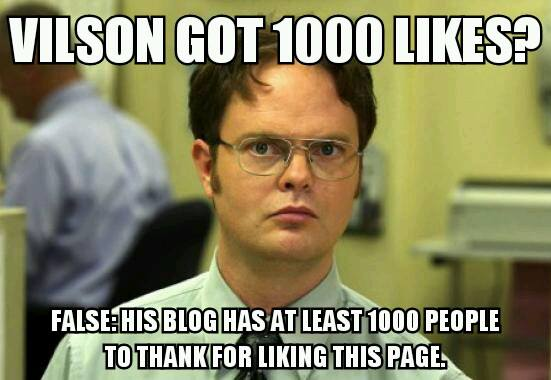 Dwight Schrute on My Facebook Page