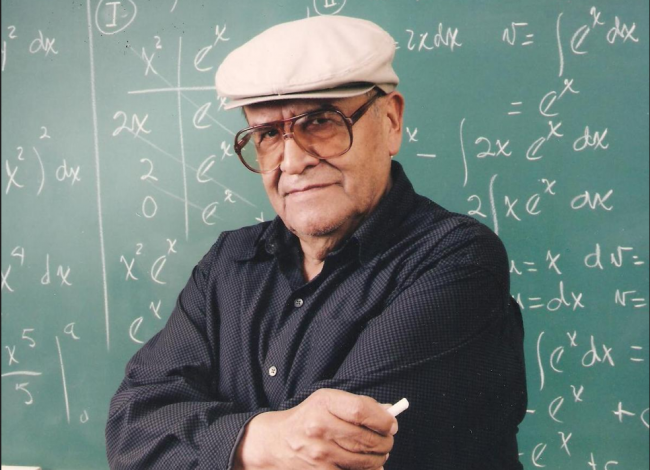 Jaime Escalante Folded Arms
