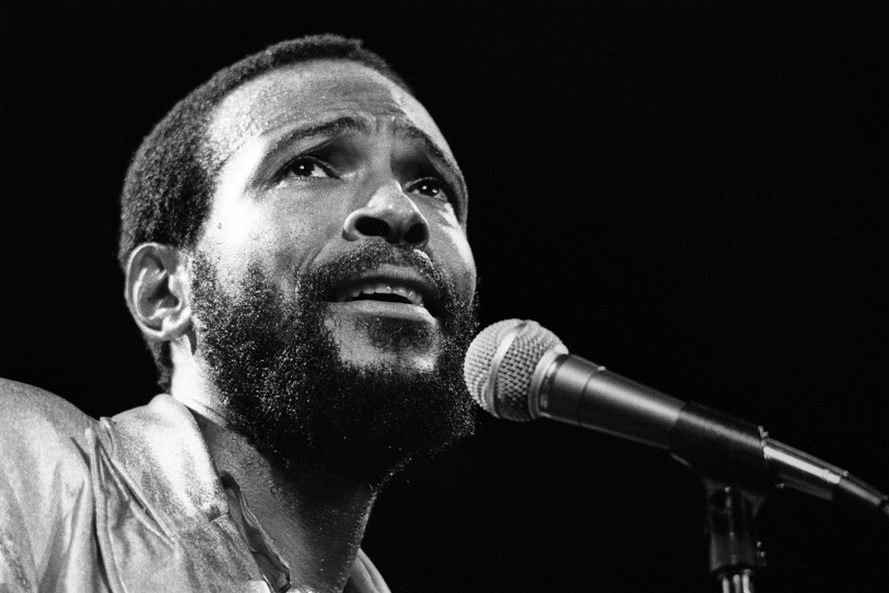 Marvin Gaye singing
