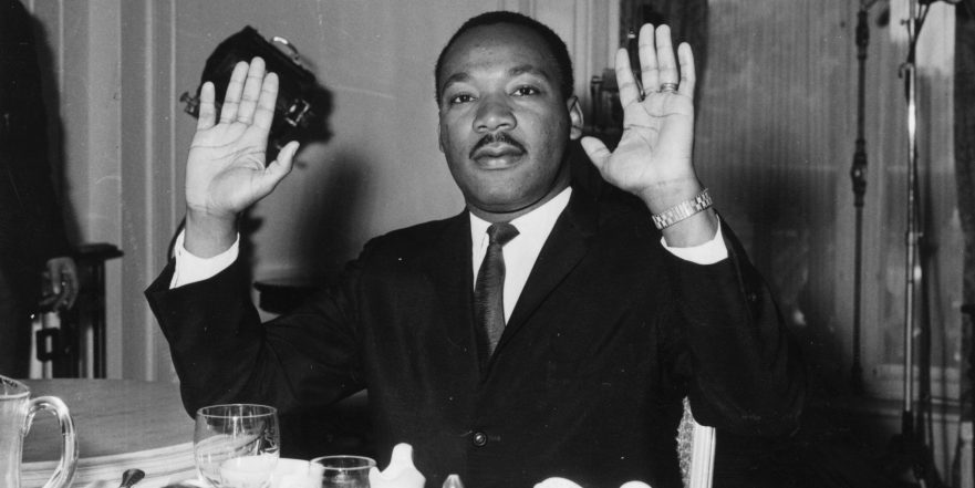 Martin Luther King's Hands