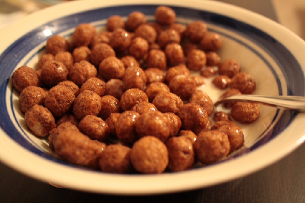 Bowl of Cocoa Puffs